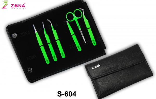 Eyelash Extension Tweezers Kit