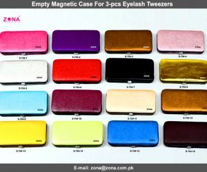 Empty Magnetic Case For 3-Pcs Eyelash Tweezers