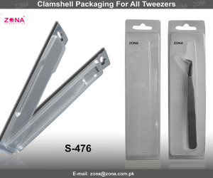 Clamshell Packaging For All Tweezers