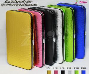 Empty Magnetic Case For 6-Pcs Eyelash Tweezers